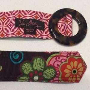 Vera Bradley Mod Floral Pink Belt